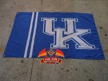 University of Kentucky flag ,sales exhibition  Brand,100% Polyester 90x150cm exhibit and sell banner