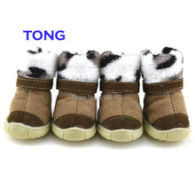 2016 New Style 4Pcs/lot Green/Rose Pet Shoes Teddy Schnauzer Puppy Dog Shoes Cats Puppy Casual Walking Shoes Green Rose M-XL(China)