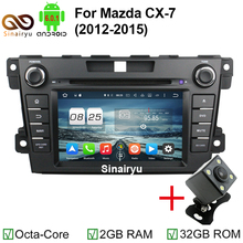 HD 1024*600 ROM 32GB Octa Core Android 6.0.1 Car DVD Player For Mazda CX-7 CX7 CX 7 Stereo Radio 4G WiFi GPS Navigation