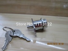 Push Plunger drawer lock with inside thread cylinder 105 Sliding door push drawer lock cabinet drawer lock 5 PC