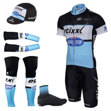 Quick Dry Complete Pro Team Mountain Bike Cycling Full Jersey Sets step Racing Bicycle Clothing/Ropa Ciclismo For Men(China)