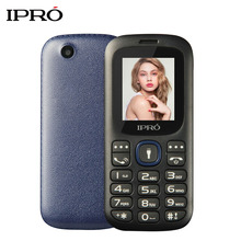 IPRO I3185 Unlocked Mobile Phone SC6531DA 1.77 Inch English/Spanish/Portuguese GSM Dual SIM Cell Phone for Seniors Elderly