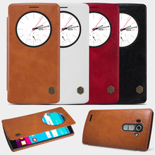 Buy LG G4 /H810/H815/H818/VS999/F500 Case, Nillkin Leather Quick Circle View Window Smart Cover Case LG G4 G 4 Wake Sleep for $9.89 in AliExpress store
