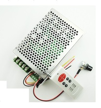 Free shipping 12V24V30V 30A reversible control wireless remote control motor speed controller limit input(China)