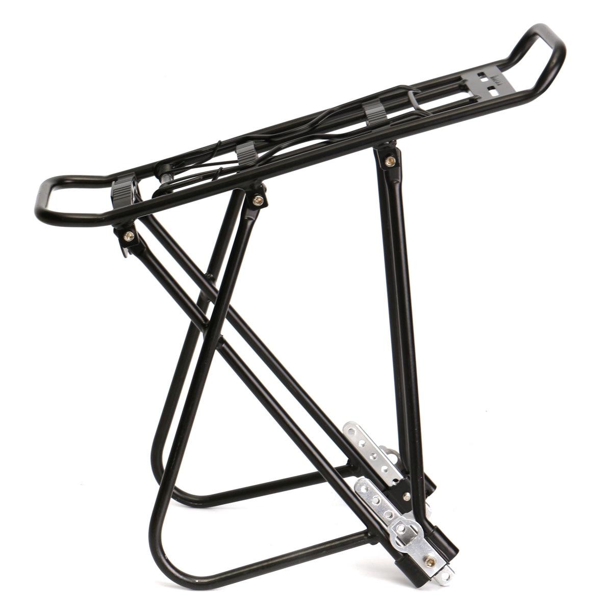 MTB Bicycle Bike Cycling High-strength aluminum alloy Rack Carrier Rear Luggage Cycling Pannier Bag Shelf Bracket<br><br>Aliexpress