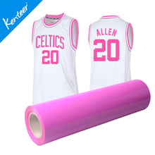 Q1-2 24 Colours Of Heat Transfer Vinyl Roll 50cm*25meter Size Matte Finish For Storage Bag