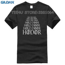 Gildan Tee4U Hot Selling 100% Cotton Tee Shirts Crew Neck Short Hold The Door Compression Mens T Shirts