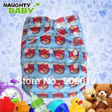 Nautybaby Special Colors Nappies Leak-proof Reusable Nappy with PUL Baby Cloth Nappy 10 diaper covers+10 Microfiber inserts(China)