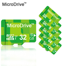 Real capacity Green Micro SD card memory cards 8GB/16GB/32GB/64GB class 10 micro sd card TF 4GB mini card for cell phones tablet(China)