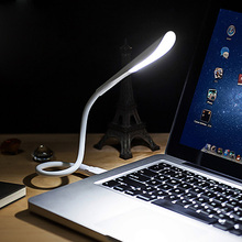 Flexible LED Touch USB Light Ultra Bright 14LEDS Portable Mini USB Led Lamp for Laptop Notebook PC Computer QJY99(China)