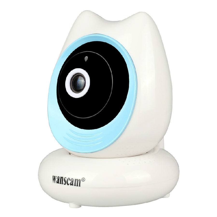 H.264 P2P Plug Play HD 720P Mini Camera Wireless Wifi Indoor IP Camera Surveillance Security System Two-way Voice<br>