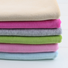 HOT! Cotton velvet knitted fabric DIY sewing upholstery handmade baby blanket coat making cotton fabric 50*155cm