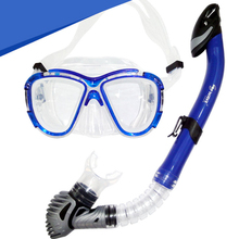 H451 Free shipping Snorkeling Combo plain myopia goggles full dry snorkel equipment