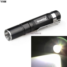 2000LM Waterproof Flashlight LED Pocket Flashlight 3 Modes Zoomable LED Torch Mini Penlight(China)