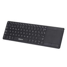 KKMOON 2.4G Wireless Keyboard Ultra Thin Multimedia Backlit Touch Keyboard with Touchpad Trackpad for PC Laptop Tablet Smart TV