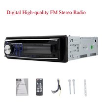 1 din CD DVD Player 1din car Stereo fix panel Car Stereo USB SD FM Aux-in car Radio player MP3 single din Detachable panel