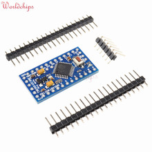 10PCS Pro Mini Atmega328 3.3V 8Mhz Board Module for Arduino Nano Mini 328 ATMEGA328P-AU Controller With Pins Replace Atmega128