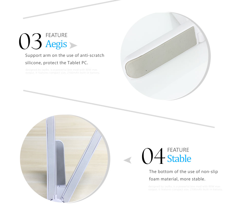 Mrs win Universal Foldable Phone Tablet Holder Desk Stand Adjustable Tripod Stability Support for iPhone iPad Pad Tablet Huawei 8