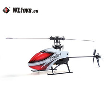 WLtoys V966 Power Star 1 6CH 6-Axis Gyro 3D Flybarless RC Helicopter BNF Remote Control Toys for Kids Children Outdoor Toys Gift
