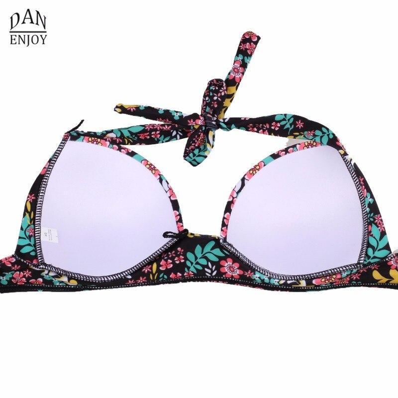 DANENJOY Sexy Printing Bikini Set Women Swimsuit Push Up Brazilian Swimwear 17 High Waist Biquines Feminino African Beachwear 21