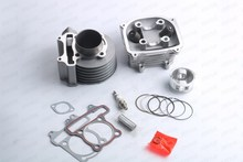 Scooter 150cc 58.5mm GY6 Engine Rebuild Kit Cylinder Kit Cylinder Head Chinese Scooter(China)