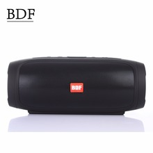 BDF CHARGE4 Music shock wave Bluetooth Speaker  Wireless stereo HIFI Portable outdoor Speaker Anti Splash 4000mAh Speaker MP3