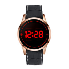 Men's Fashion LED Digital Touch Screen Day Date Silicone Wrist Watch Fashion & Casual 100% New High Quality Energy saving M1