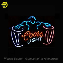 COORS LIGHT DRUM Neon Sign PEPS neon signs for sale Real Glass Tube Handcrafted Music Sign custom neon lights light up signs