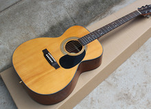 41''Acoustic Guitar with OM Body,Mahogany Back and Side Board, Can Add Fishman Pickup,Offer Customized