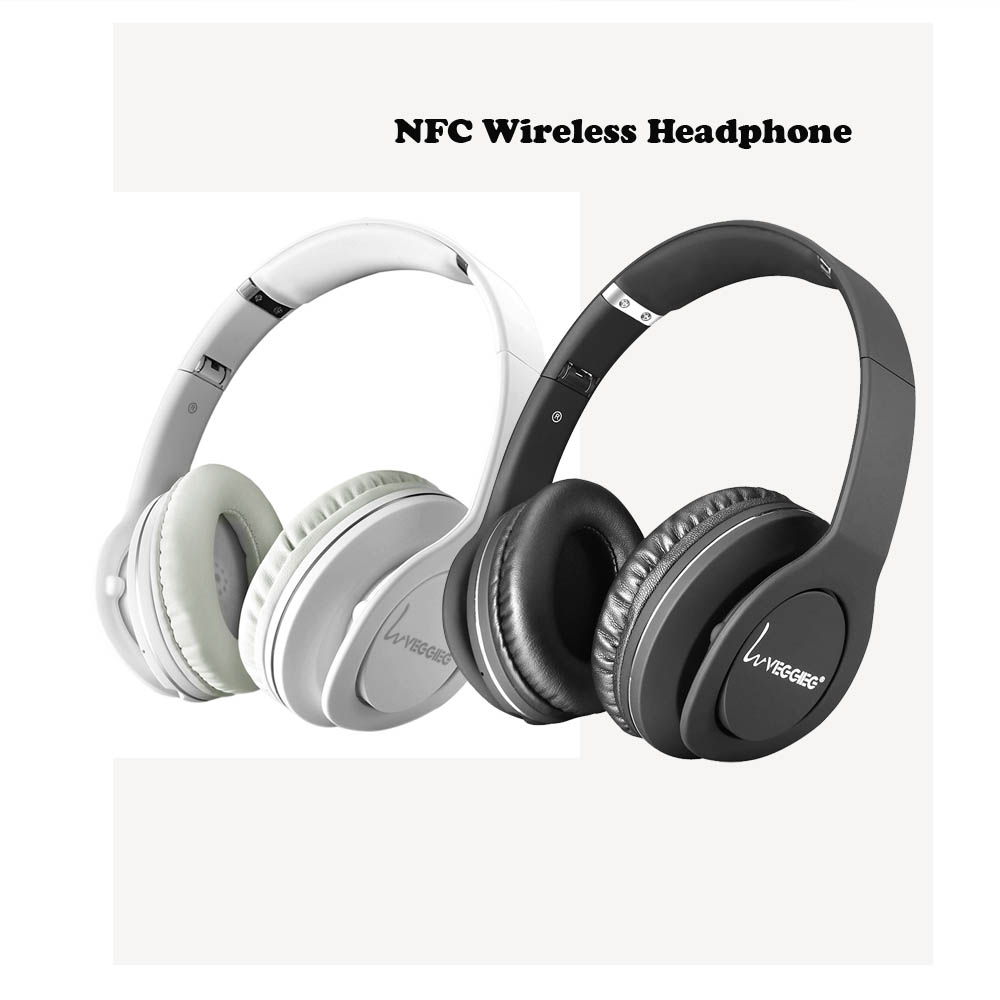 Foldable Stereo Bluetooth Headphones V4.0 + EDR Bluetooth Headsets NFC Multi-points Wireless Headphones for Android iPhone<br>