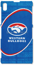 Western bulldogs phone case For Sony Xperia Z Z1 Z2 Z3 Z4 Z5 For Huawei Honor 6 7 Ascend P6 P7 Mini P8 P9 Lite Mate 7 8 Cover(China)