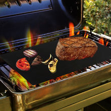 40*33cm BBQ GRILL MAT set of 3 sheets Reusable Non-stick Make Grilling Easy BBQ