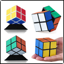 Magic Cube Professional 2x2 Neocube Matte Stickers Cubo Magico Puzzle Speed Classic Toys Learning Education P2