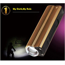 2000lumens USB lamp multi-function 18650 LED rechargeable flashlight power bank Electronic cigarette lighter free shipping