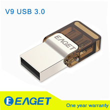 EAGET Official V9 8GB 16GB 32GB Smart Phone Tablet PC USB Flash Drives OTG external storage micro 32G pen drive memory USB stick
