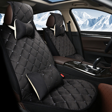5Seat(front+rear)Universal Fit Car Interior Accessories Seat Covers For KIA Cadenza/K9/Niro/Sorento/BORREG/Carens/Carnival/SHUMA