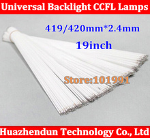 "100/lot Free shipping 2.4*419mm 2.4*420mm CCFL tube Cold cathode fluorescent lamps 420 mm 19"" widescreen LCD monitor LCD Lamp(China)"