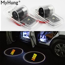 Auto Car Door Logo Projector Welcome Light Laser Ghost Shadow Lamp For honda Accord 2003 To 2013 Car Accessories 1pair
