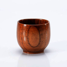 New Original Wooden Cup With High Quality Hand-made Wood Cup For Water Beer Coffee Drinkware Cups Wood Cup Kitchen Accessories(China)