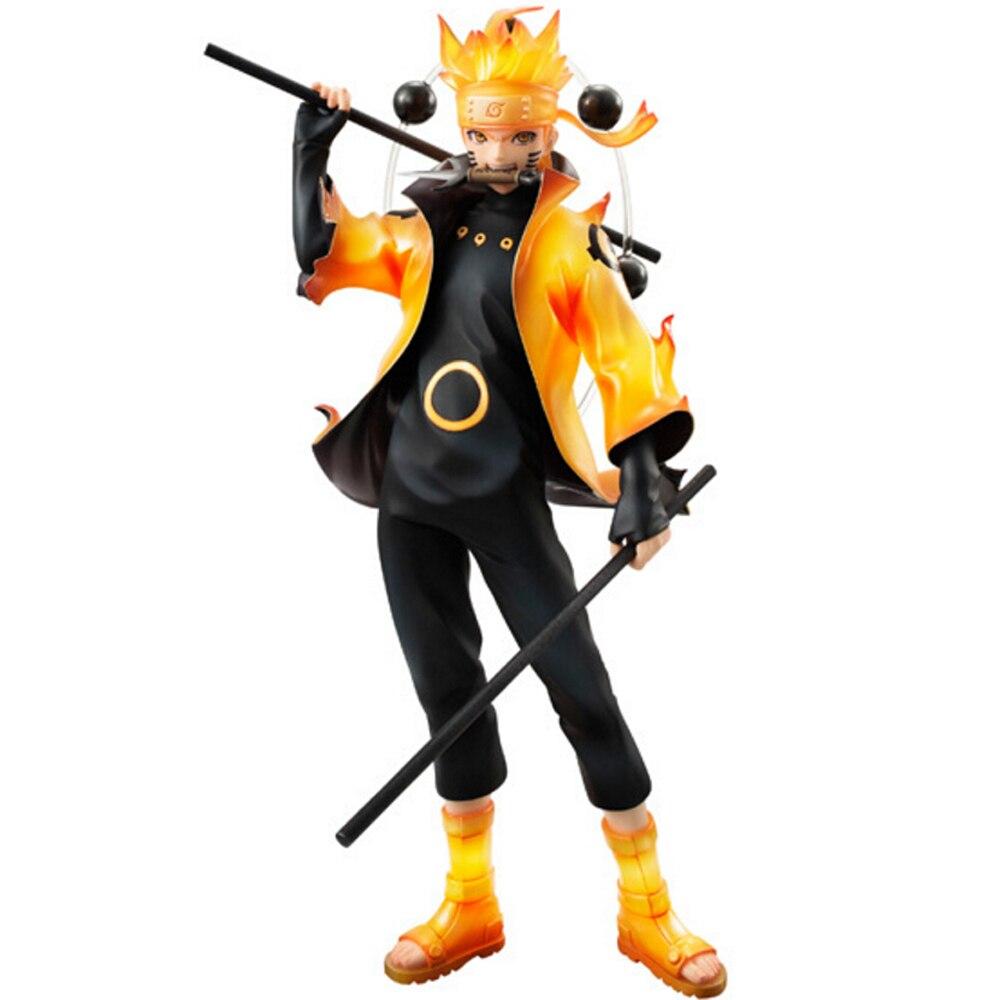 22cm Anime Naruto Rikudo Sennin Mode Uzumaki Naruto PVC Action Figure Toys<br><br>Aliexpress