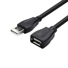 2pcs Usb Extended Cable Male to Female, USB 2.0 Lengthen The Data Cable For Mouse Keyboard U Disk Computer