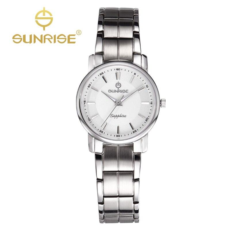 SUNRISE Casual Ladies Quartz Watches Designer Top Brand Luxury Watch Women Dress Bracelet Gold Watches Clock Reloj Mujer DL747<br><br>Aliexpress