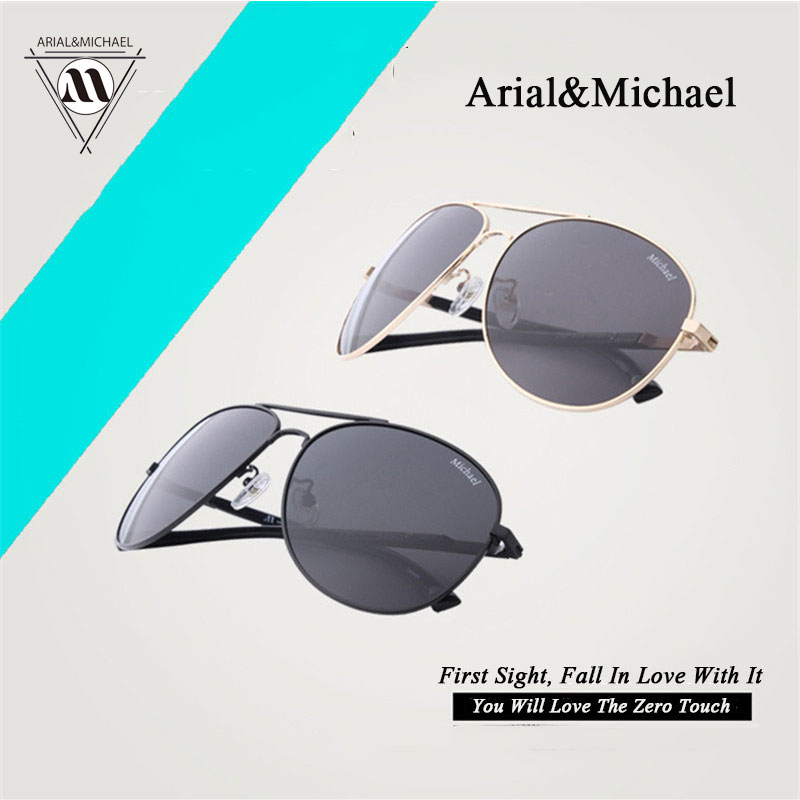 Arial&amp;Micheal Men and women travel new super light anti UV couple genuine Sunglasses original Polarized Sunglasses<br><br>Aliexpress