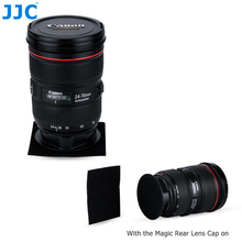 JJC Magic Rear Lens Cap Fast Conveniently Changes Camera Lens Save Time Lens Body Protector for Canon Nikon Sony Olympus etc.