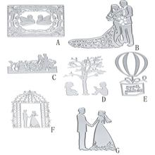 Swan/Balloon/Wedding DIY Scrapbooking Paper Card Album Craft Metal Cutting Dies Stencils  Fairy Tale Ornament
