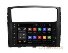 8 Inch Quad Core Android 7.1 6.0 5.1 Car GPS Navigation Audio MP3 DVD Player Stereo Head Unit For MITSUBISHI PAJERO V97 2006+(China)