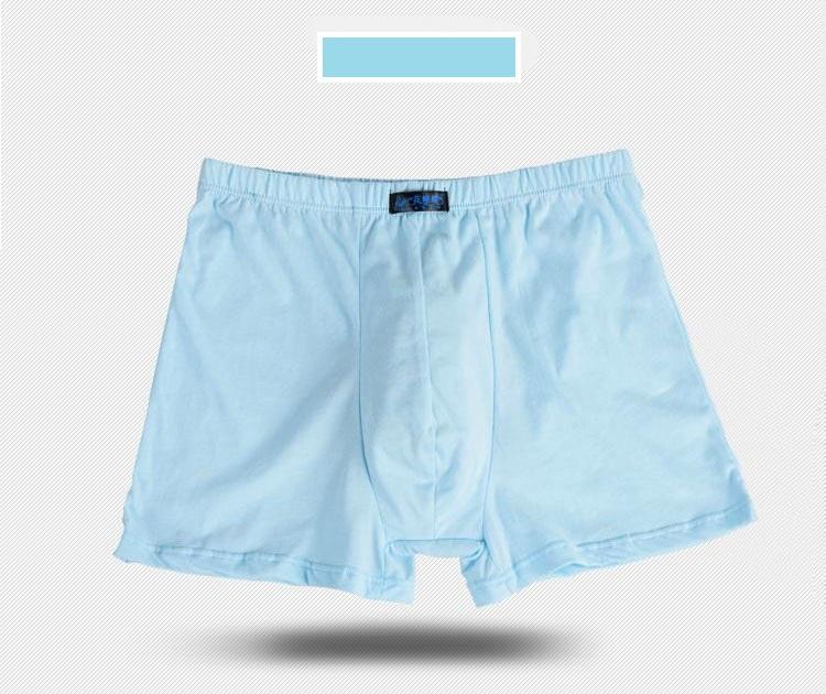 Male Men\`s Long Boxer Shorts Cotton Panties Mens Large Size Underpant Fat New Fashion Sexy Mr Underwear (17)