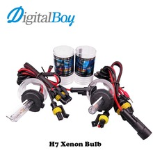 Digitalboy Car HID Xenon Bulbs 12V 55W Car Headlight Fog Lamp for H1 H3 H4-2 H7 H8/H9/H11 9005 9006 880 881 Car Lighting 6000k(China)