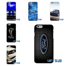 Ford Mustang Boss Funny Logo Soft Silicone TPU Transparent Phone Cover Case For iPhone 4 4S 5 5S 5C SE 6 6S 7 Plus