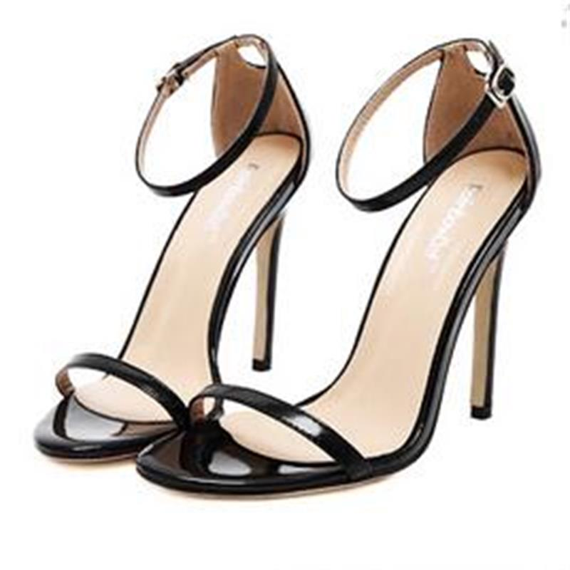 2017 New Arrived Vogue Sexy Women Shoe Buckle Strap Celebrity Classic High Heels Sandals Stiletto Pump Party Wedding Shoes Woman<br><br>Aliexpress